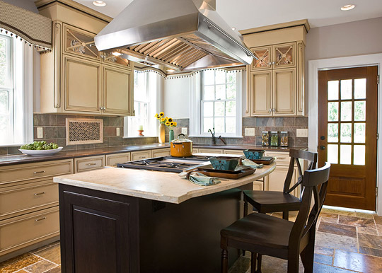 Remodeled Baltimore Showhouse Kitchen Traditional Home
