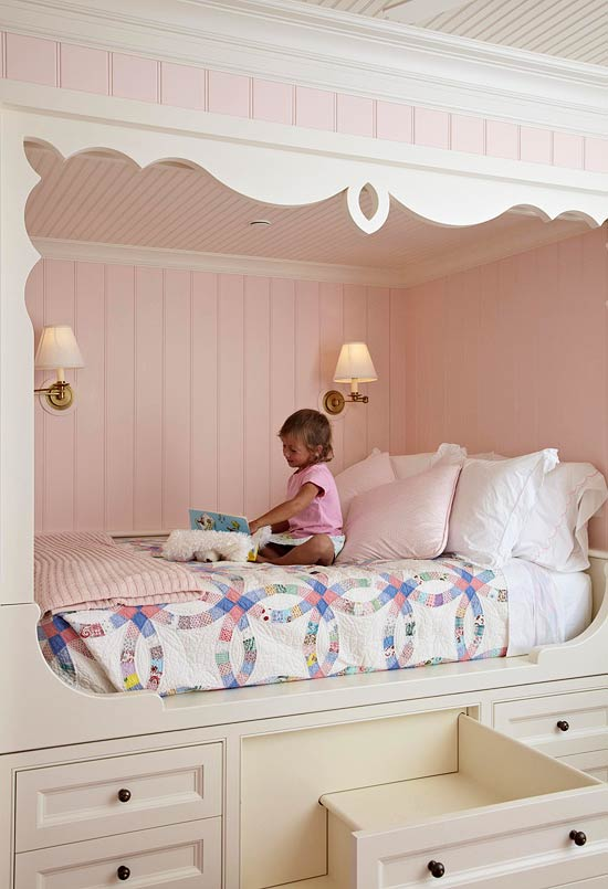 + ENLARGE. Fairytale Girlu0027s Bedroom