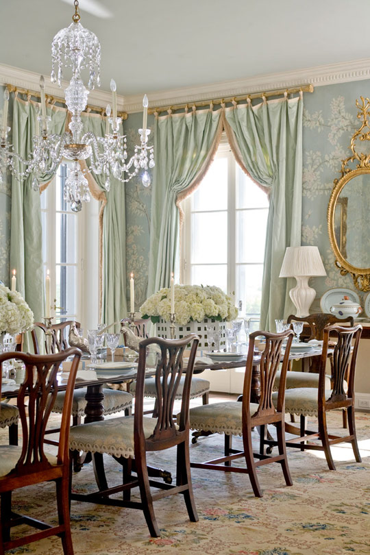 Beautiful Blue Dining Rooms: Beautiful Dining Rooms