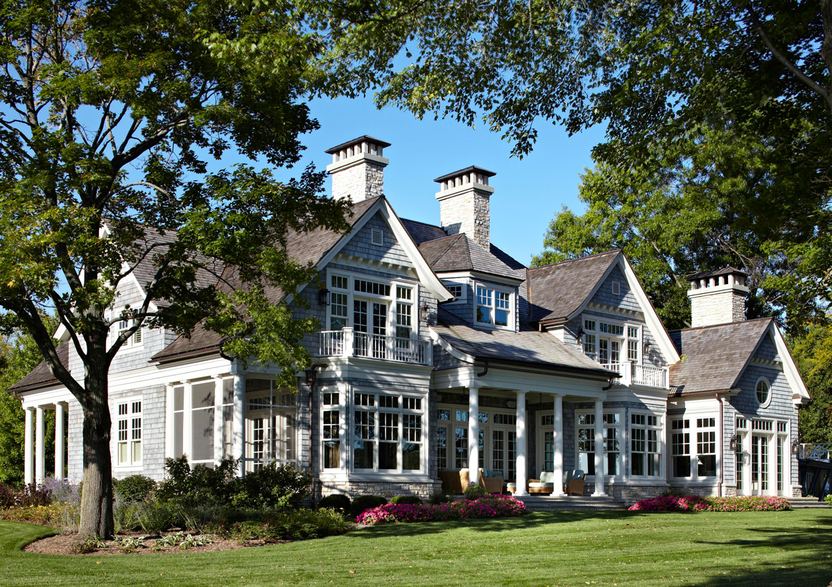 Exquisite exteriors traditional home for Conventional homes