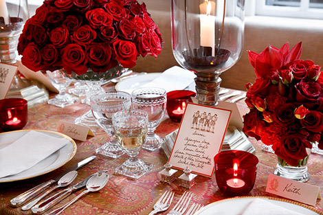 Pretty Table Setting & Beautiful Holiday Table Settings | Traditional Home