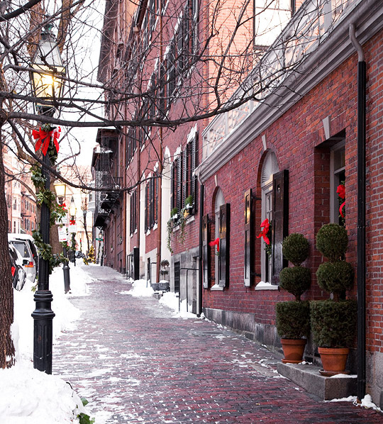 Christmas in Boston | Traditional Home