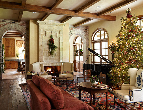 Christmas In The Heart Of Texas Traditional Home