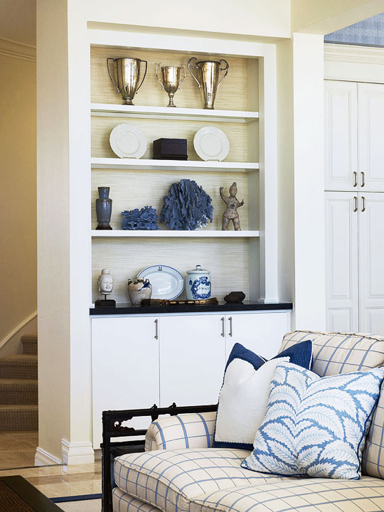 Enlarge Coastal Living Room Bookcase
