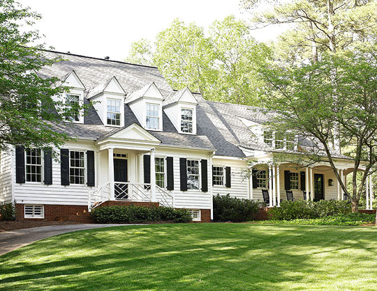 Get the look southern style architecture traditional home for Conventional style home