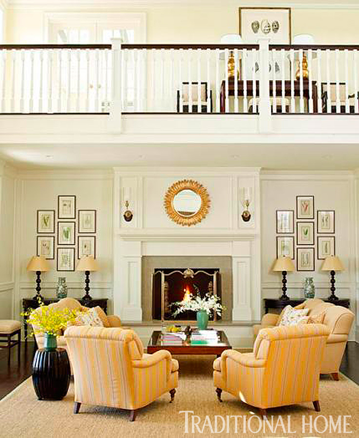 Dramatic Before-and-After Living Rooms | Traditional Home