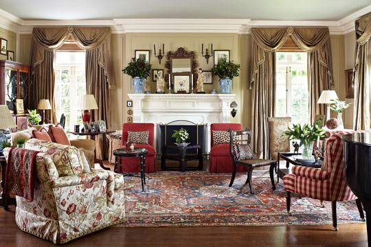 traditional home living rooms.  ENLARGE Living Room Colorful Rooms Traditional Home