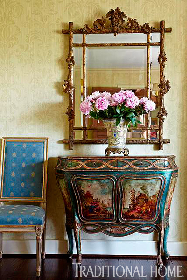 Decorating with Mirrors | Traditional Home