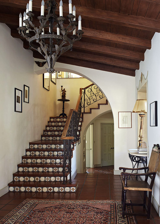 Jobeth Williams Spanish Style Home Traditional Home