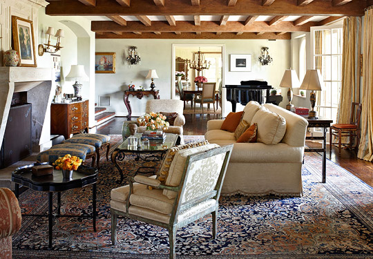 JoBeth Williams SpanishStyle Home Traditional Home