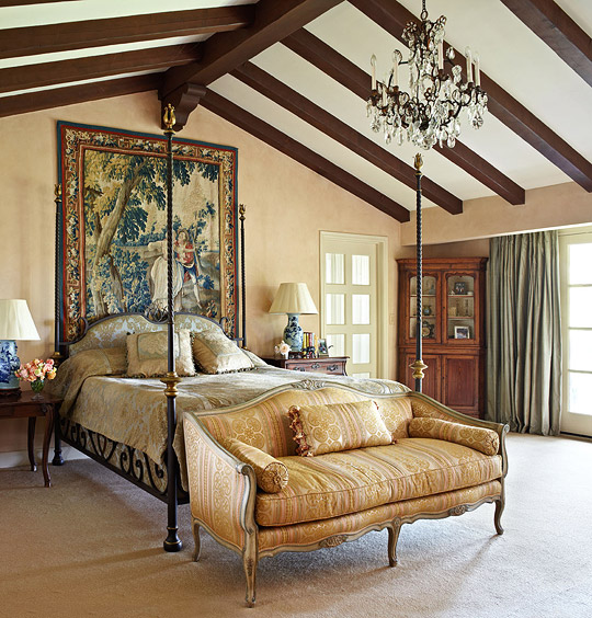 Traditional Home Interiors: JoBeth Williams' Spanish-Style Home