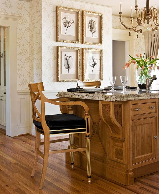 Second Hand Clive Christian Kitchen: Kitchen Ideas: Two Kitchens In One