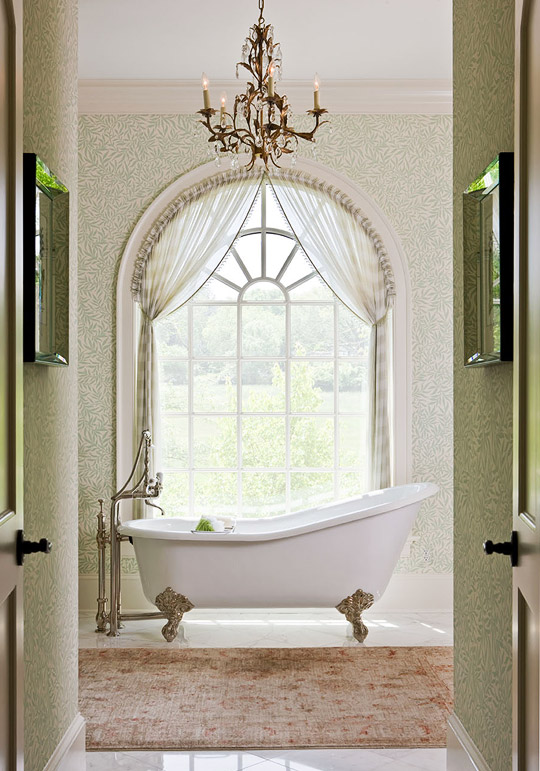 Stunning Master Bathrooms Traditional Home - Master bathroom bathtubs