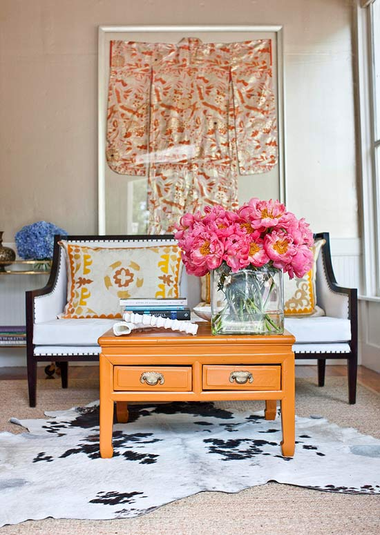 Decorating With Orange An Instant Pick Me Up