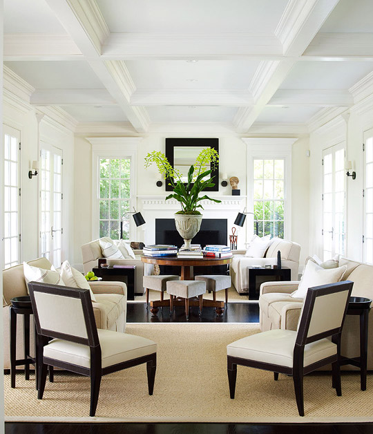 Dazzling Rooms Featuring Black and White | Traditional Home