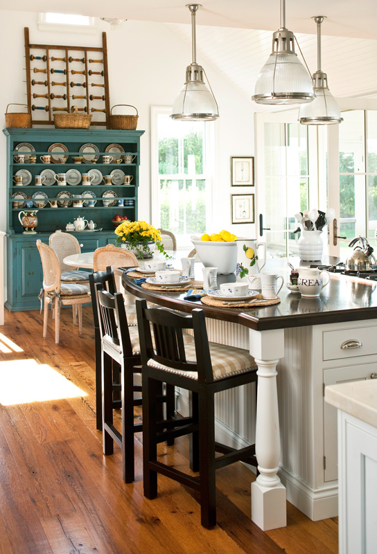 15 Design Ideas For Kitchens Without Upper Cabinets: Storage Ideas For Kitchens Without Upper Cabinets