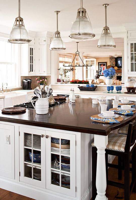 Our most beautiful kitchens traditional home for Kitchen ideas magazine