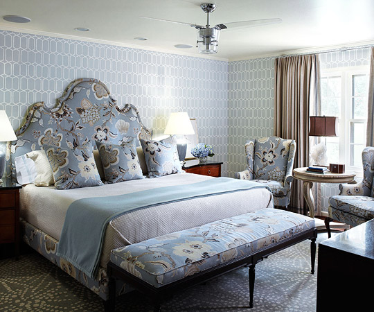 More Bedroom Decorating Ideas. Bedroom Decorating Ideas  Window Treatments   Traditional Home
