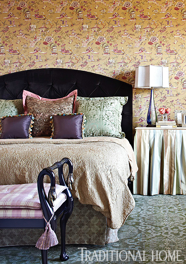 Romantic Rooms and Decorating Ideas | Traditional Home on traditional master bedroom curtains, master bedrooms hgtv decorating ideas, mediterranean master bedroom ideas, bathroom decorating ideas, white grey turquoise bedroom ideas, gothic master bedroom ideas, traditional style bedroom decorating ideas, kitchen decorating ideas, bath and bedroom addition ideas, traditional small master bedroom, 8 year old girl room ideas, dining room ideas, contemporary decorating ideas, traditional master bedroom furniture, traditional master bedroom sets, candice olson master bathroom ideas, master bedroom and bathroom floor plan ideas, master bedroom painting ideas, traditional bedroom ceiling decorating ideas, traditional style master bedrooms,