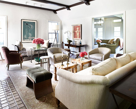 Spanish Colonial House with Calm Palette | Traditional Home
