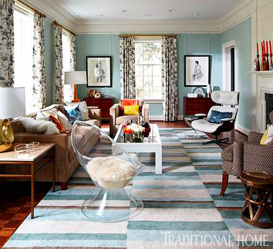 Lovely + ENLARGE. Colleen Duffley. AFTER Living Room Idea