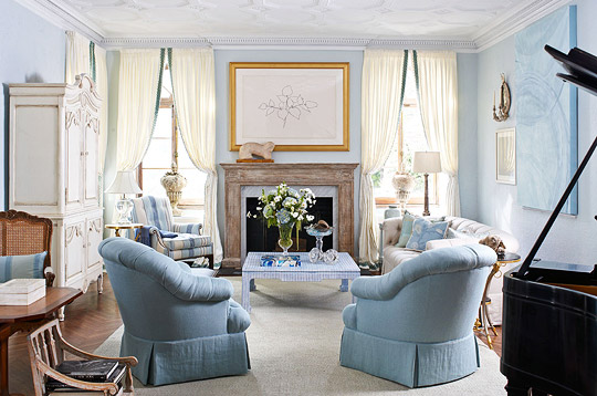 Showhouse Color Pastels Traditional Home