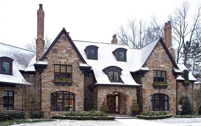 Get the look tudor style traditional home - What makes a house a tudor ...
