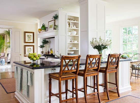 Beautiful, Efficient Small Kitchens | Traditional Home