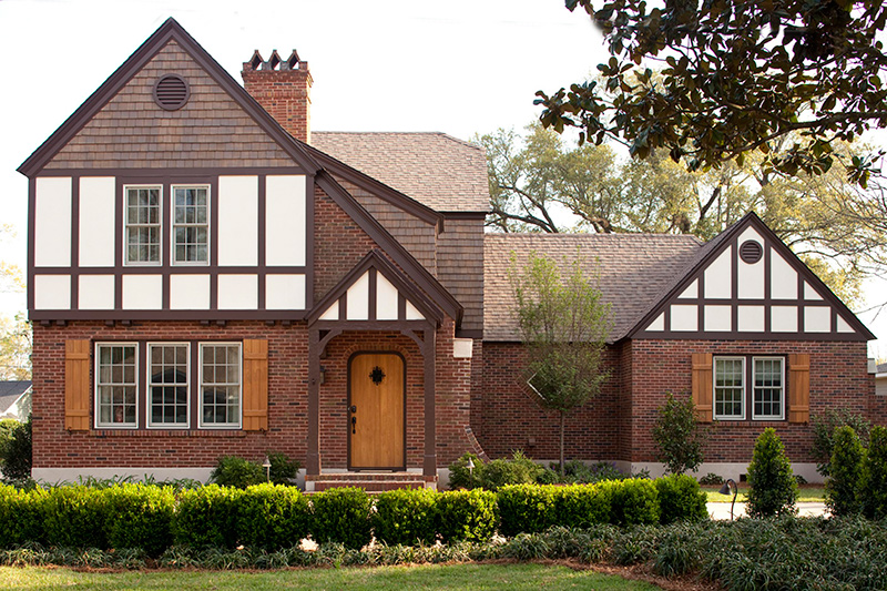 Get the look tudor style traditional home for Small tudor homes