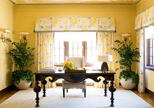traditional home office. Sunny Yellow Home Office Traditional Home Office I