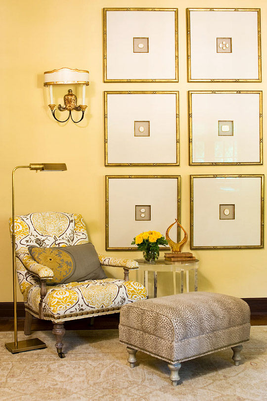 Traditional Decorating In Sunny Yellow Traditional Home