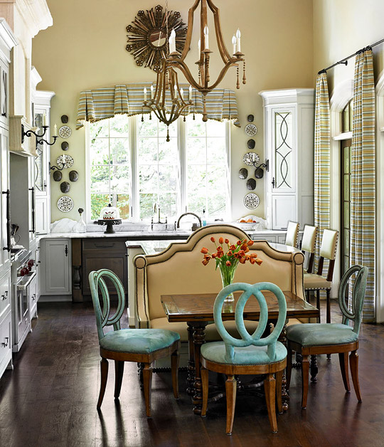 L Shaped Kitchen Island Kitchen Traditional With Apron: Smart, Beautiful Kitchen Banquettes