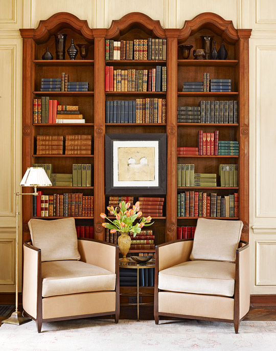 Handsome Showhouse Rooms Traditional Home