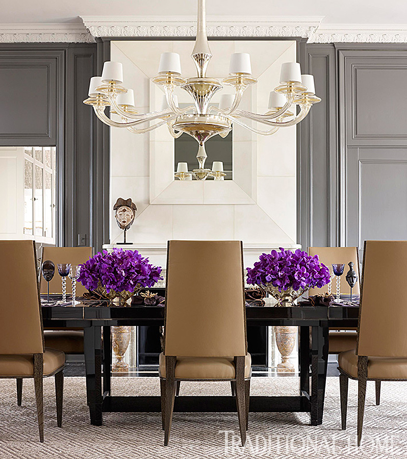 traditional home dining rooms.  ENLARGE Werner Straube Modern Dramatic Dining Room 25 Years of Beautiful Rooms Traditional Home
