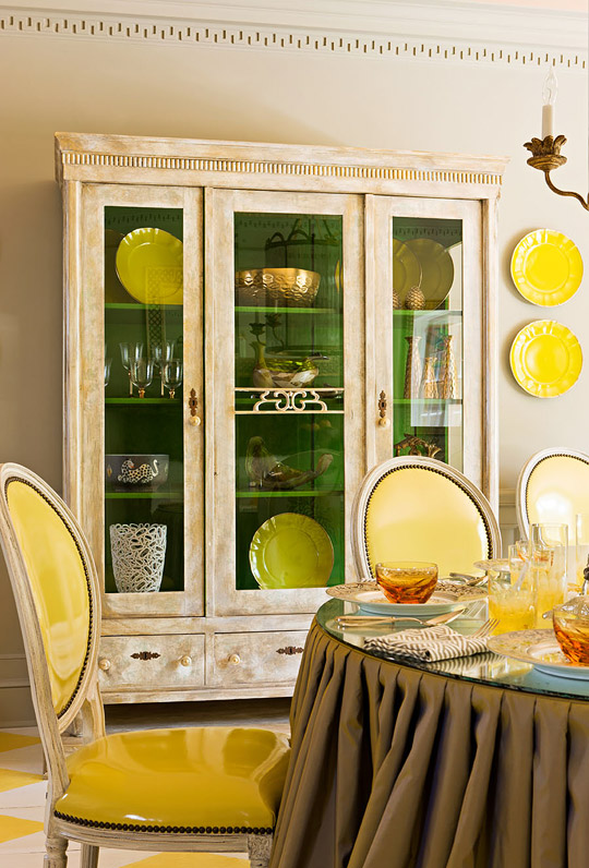 Showhouse Rooms With Yellow Palettes Traditional Home