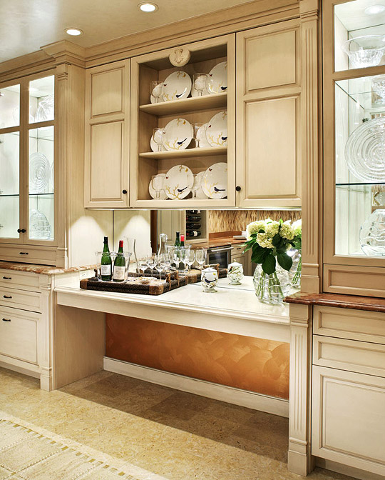 Kitchen Cabinets New York City: Welcoming, Intimate Showhouse Kitchen