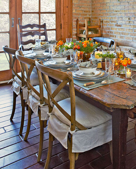 Casual Dining Room Ideas: Entertaining: Casual Dining In A Carriage House