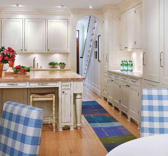 Traditional Small Kitchen Ideas White: Beautiful, Efficient Small Kitchens