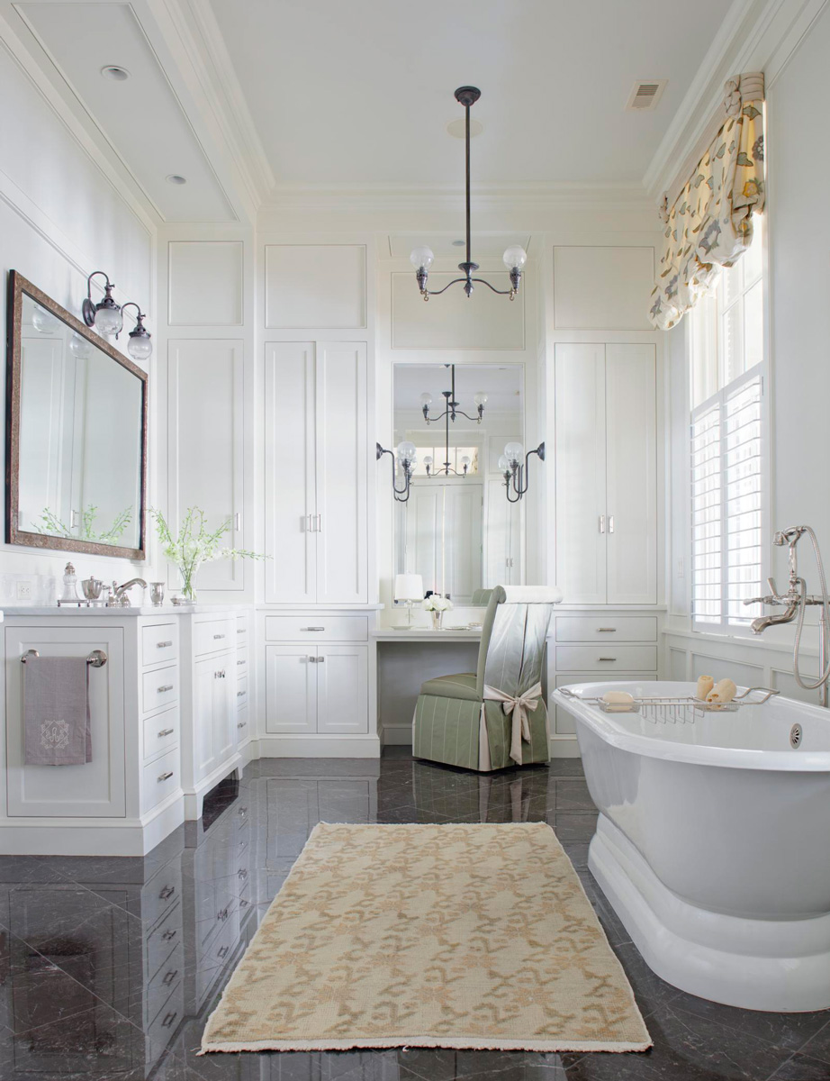 Luxurious Baths Traditional Home