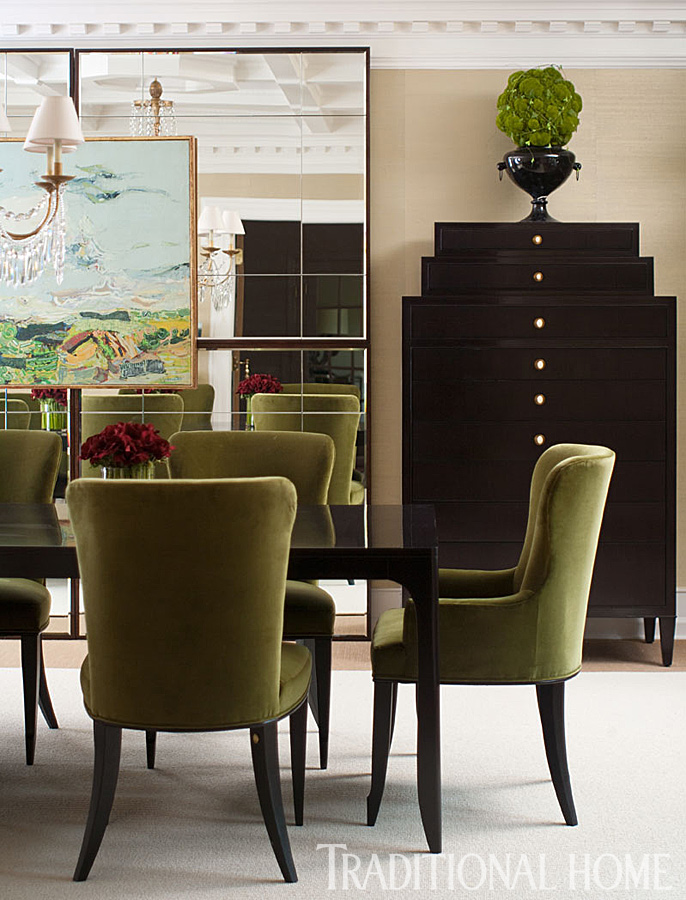 ENLARGE  John Bessler  Dining Room  Designer Showhouse of New Jersey   Traditional Home. Dining Room Chairs In New Jersey. Home Design Ideas