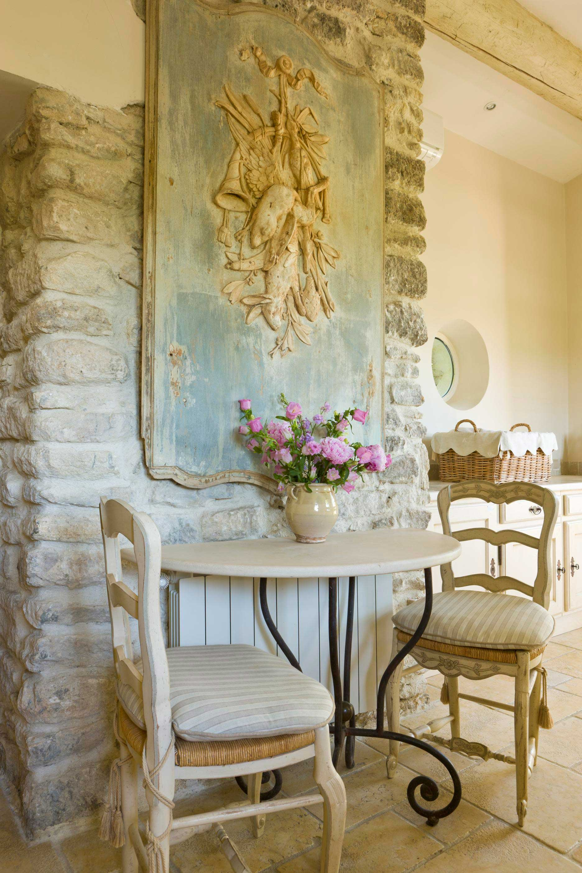French country home that embraces history traditional home for French country house interior