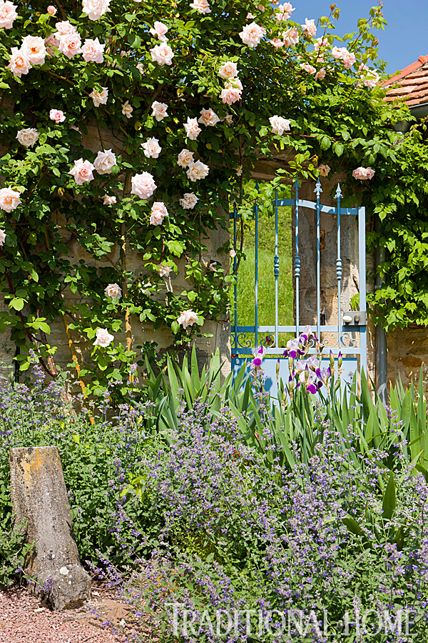 British Garden in the French Countryside | Traditional Home