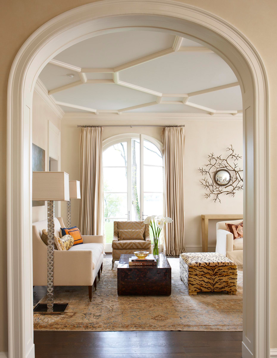 Get the look marvelous millwork traditional home for Elegant home design
