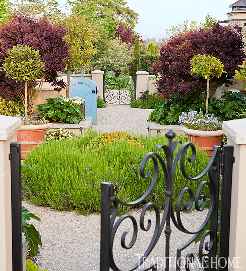 French-Inspired Garden In The Pacific Northwest