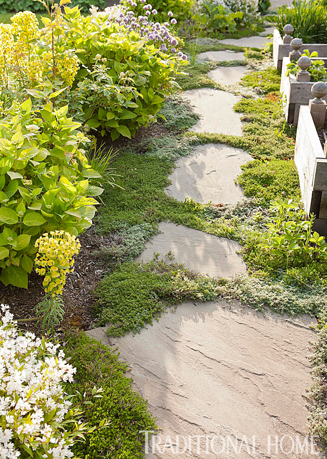 French-Inspired Garden in the Pacific Northwest | Traditional Home on united logo, shaklee corporation, united technologies,