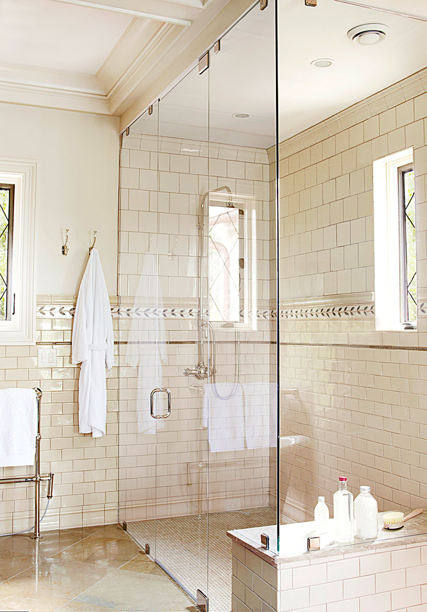 Master Bathrooms Traditional mind-blowing master-bath showers | traditional home