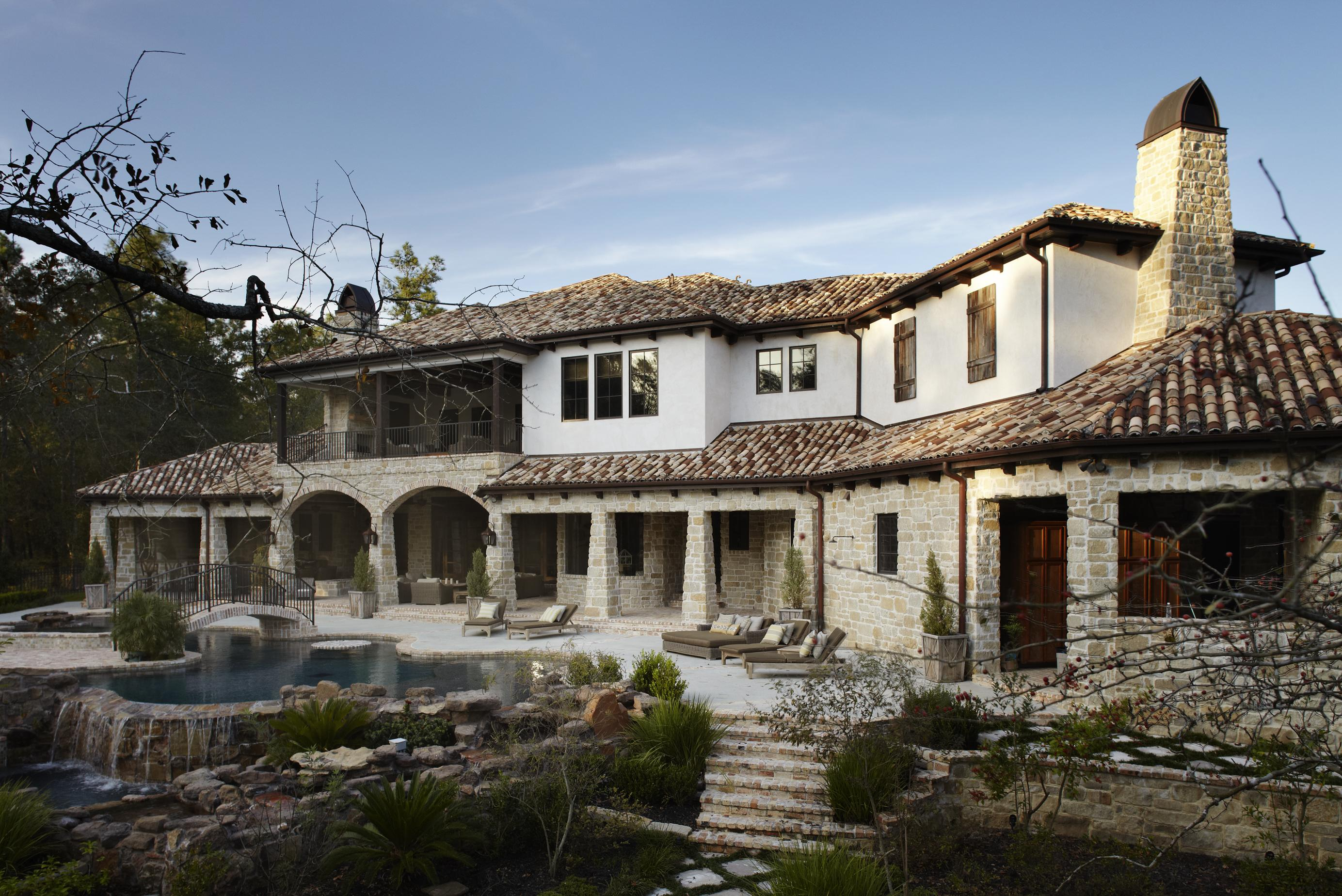 Stylish Mediterranean Exteriors | Traditional Home on brick ranch house plans, brick house with vinyl siding, brick and rock house plans, two story brick traditional house plans, brick french country house plans, 4-bedroom brick house plans, brick and cedar house plans, brick and stone house plans,