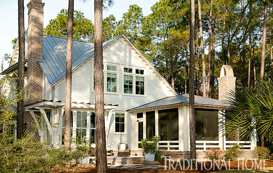 Greenspace charming carolina cottage traditional home for Carolina cottage house plans