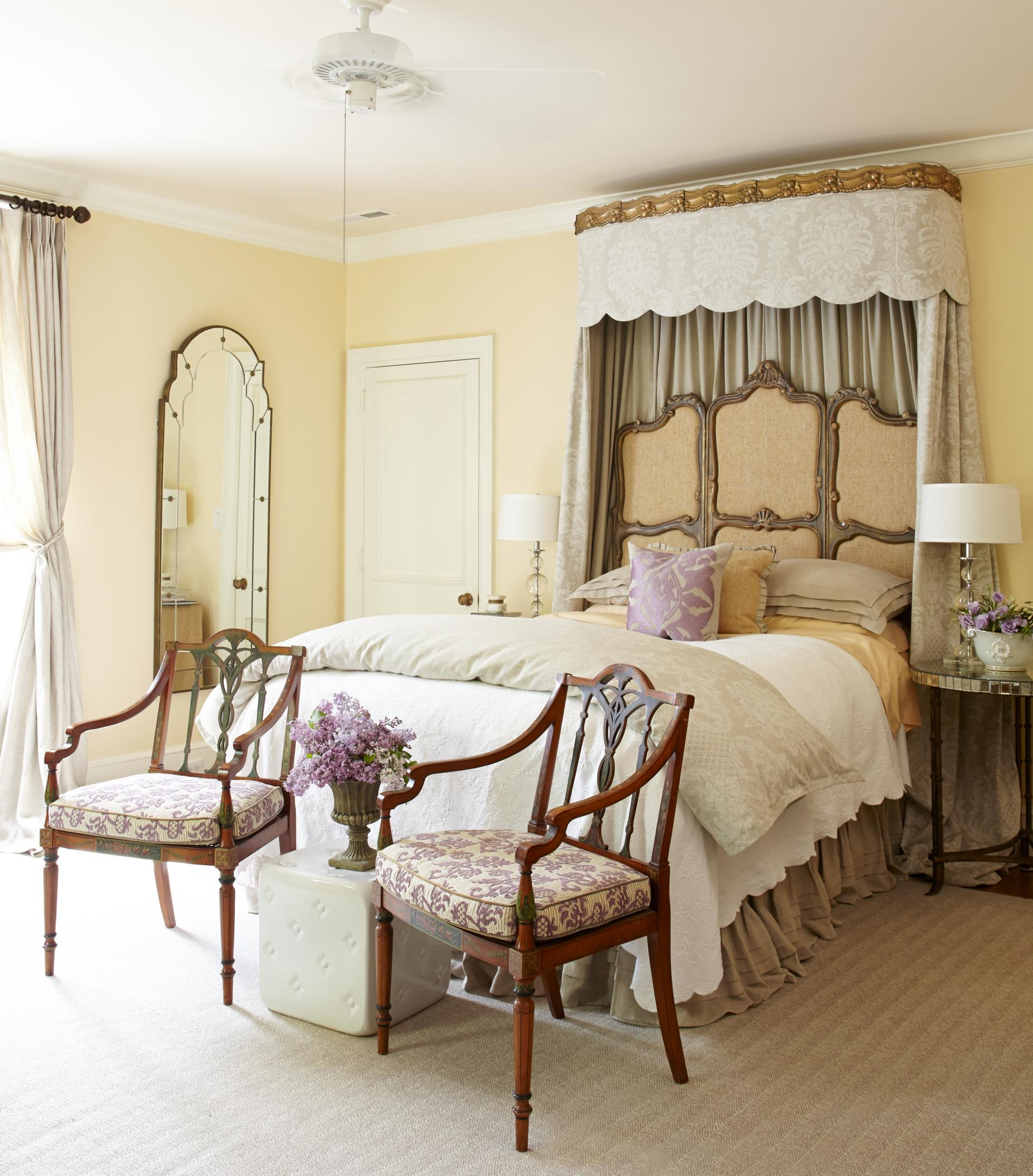 Traditional Bedroom Pictures: 12 Romantic Bedrooms