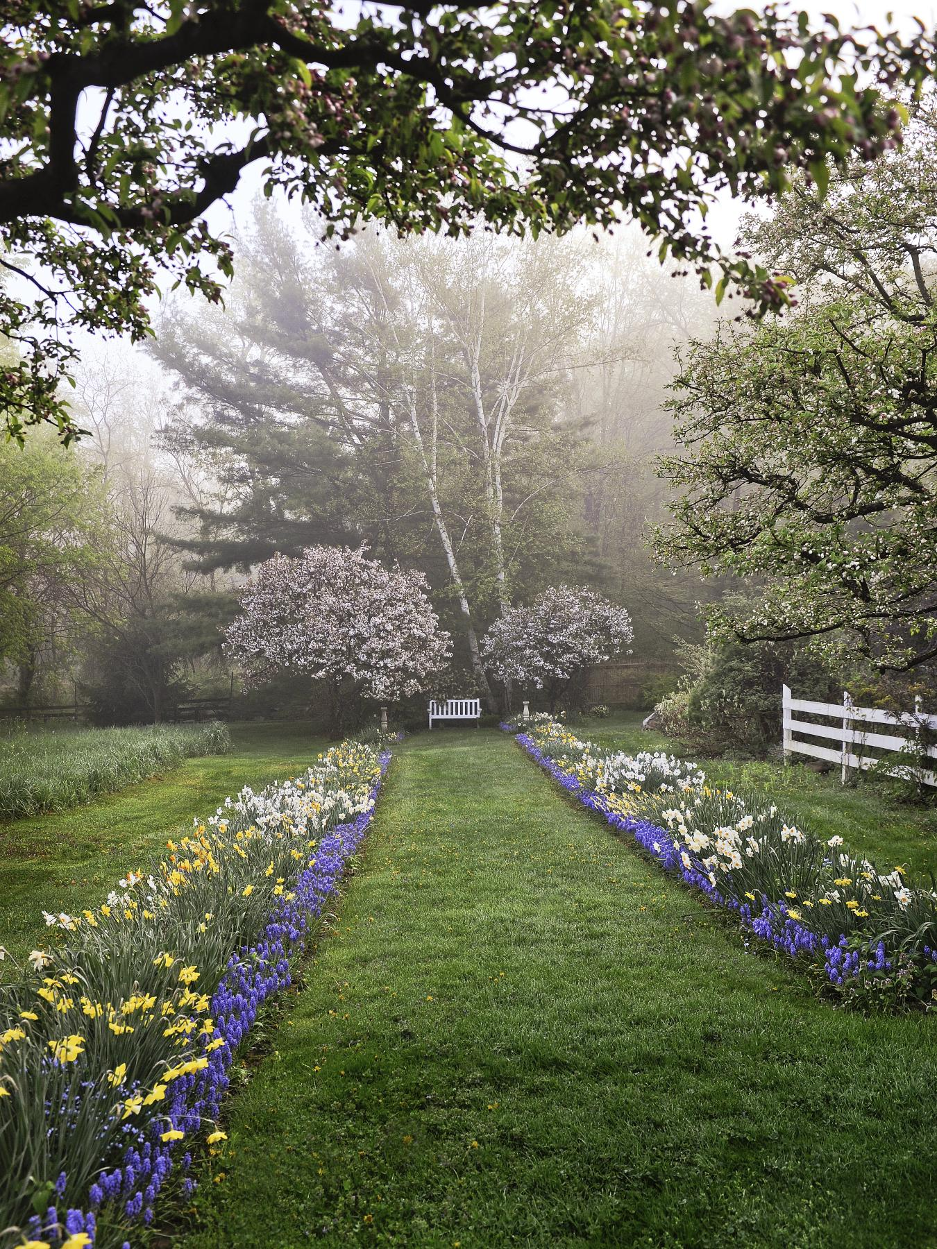 Captivating Connecticut Garden Traditional Home